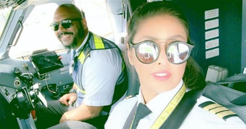 first female saudi commercil pilot