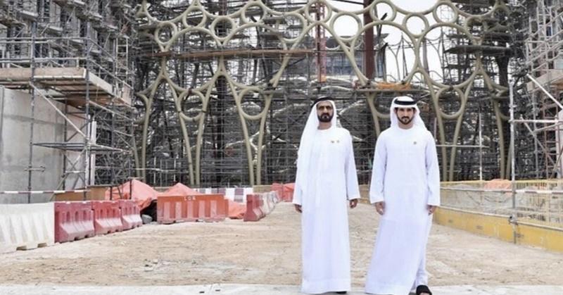 [WATCH] Sheikh Mohammed Inspects Dubai Expo 2020 Construction Progress