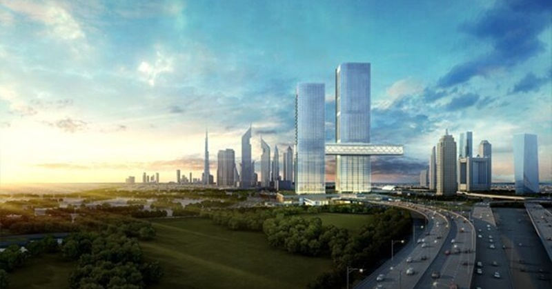 Ithra Dubai Begins Construction of World's Largest Cantilever