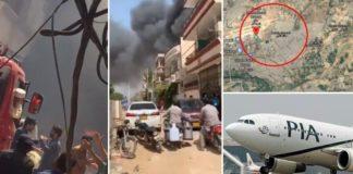 pakistan international airlines flight crash