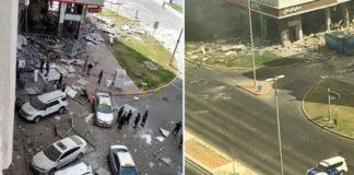 abu dhabi explosion building