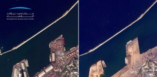 beirut before and after photo map