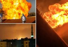 syria pipeline explosion
