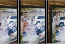 WATCH: Man Escapes Death as Car Hits Wall in Saudi