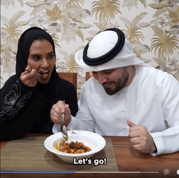 Khalid and Salama Vlog About Nigerian Food Experience