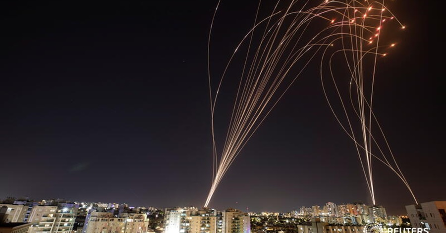 [VIDEO] Israel's Iron Dome Blocks 90% of Rockets Fired, Limiting Impact of One of its Largest Assaults